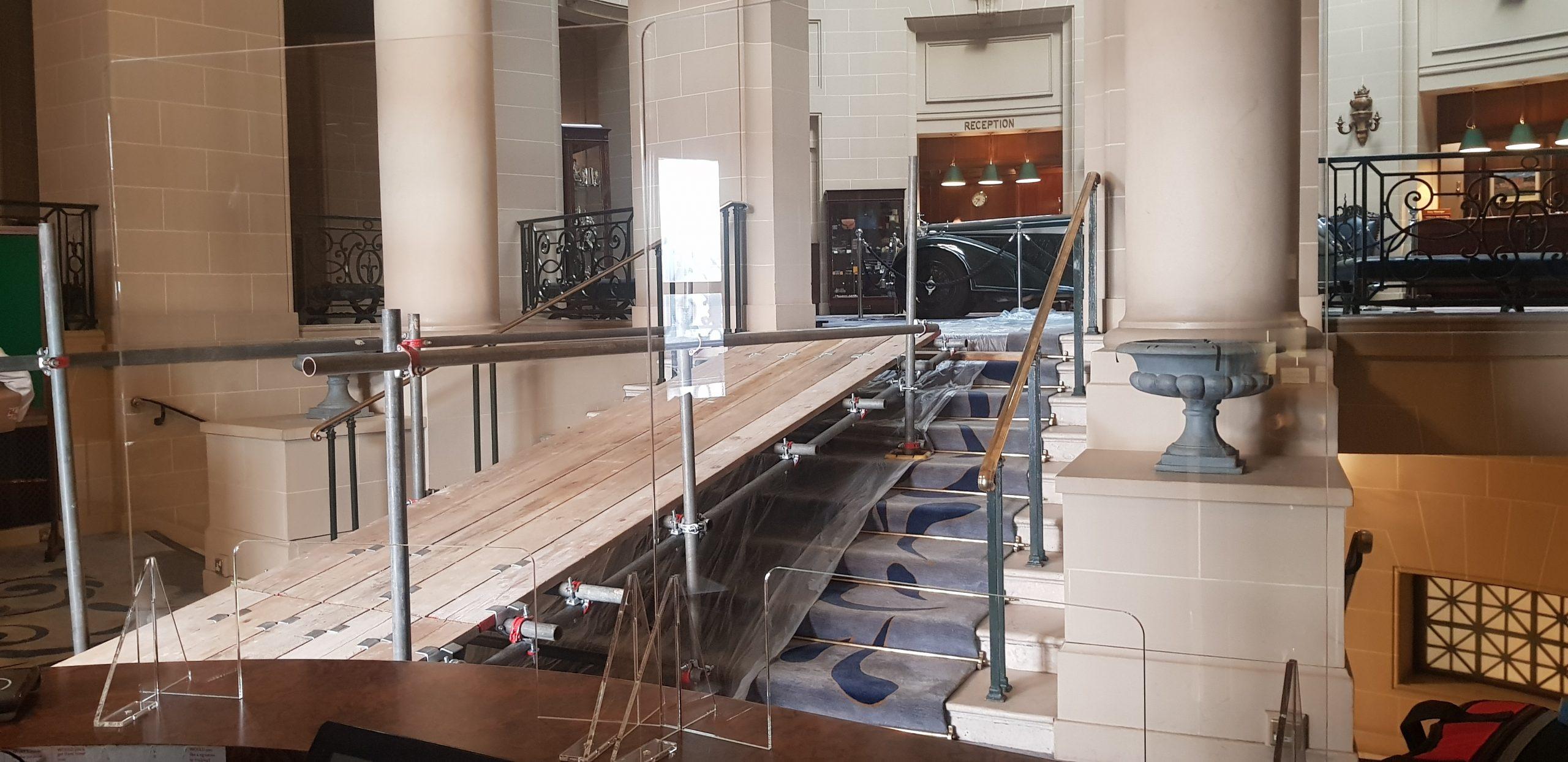 indoor scaffolding